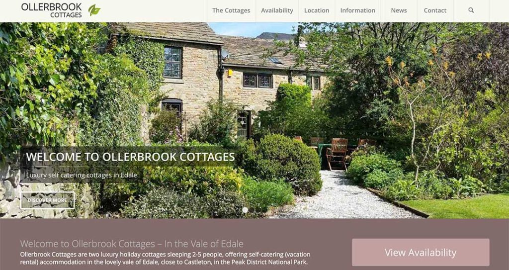 Ollerbrook Cottages testiomonial