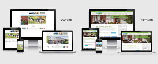 New Mobile Friendly Website for West Woolley Farm